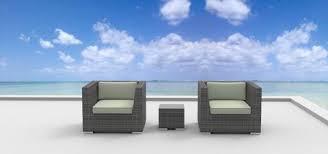image modern wicker patio furniture. st croix 3pc ultra modern wicker patio set image furniture