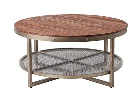 sheridan round coffee table by ink ivy