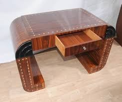 vintage art deco furniture. Vintage Art Deco Writing Desk Furniture R