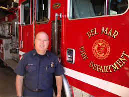 the sandpiper after 21 years as a del mar firefighter captain patrick o neil still loves what he does loves where he works and looks forward to coming to work every day