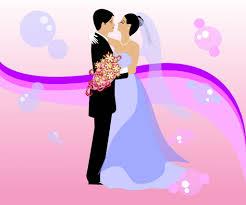 K O P E L Clipart Wedding Vector Pencil And In Color K O P E L