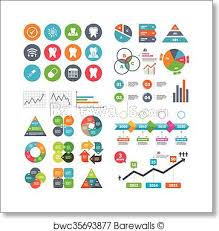 Tooth Dental Care Icons Stomatology Signs Art Print Poster