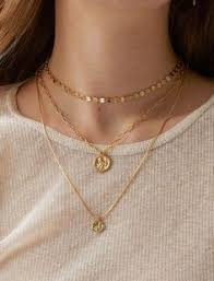 <b>docona Bohemian Gold Color</b> Flower Crystal Necklace for Women ...