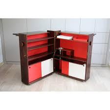 dry bar in a box in rosewood by erik buch for dyrlund 1960s design market