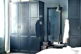 ikea pax wardrobe doors system black brown wardrobes with three doors closet slanted