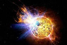 large solar storm