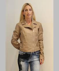 camel color leather jacket