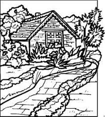 landscapes coloring pages coloringpages1001