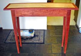 red hallway table. red hallway table for appealing my entry with top