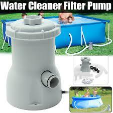 220V <b>Electric Filter</b> Pump <b>Swimming Pool Filter</b> Pump Water Clean ...