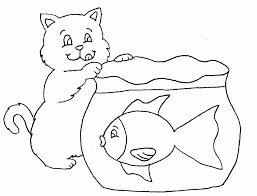 Small Picture Fish Tank Coloring Page Coloring Home