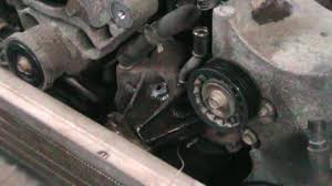 1999 chevy s 10 4x4 4 3l water pump change
