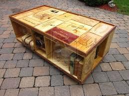 Recycled Wine Crate Coffee Table by ~machetesinskier8 on deviantART
