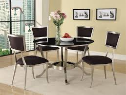 Dining Tables outstanding modern round glass dining table Glass