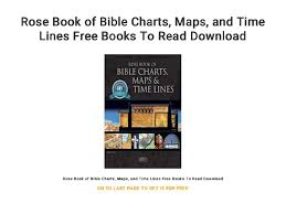 Rose Book Of Bible Charts Maps And Timelines Rose Book Of Bible Charts Maps And Time Lines Free