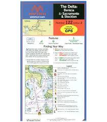 Maptech Waterproof Charts Maine Maptech The Delta Benicia To Sacramento And Stockton Waterproof Chart