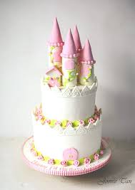 Celebrate Her Day With The Princess Castle Cake By Joonie Tan