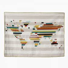 Best 25+ Map quilt ideas on Pinterest | Crafts with maps, How to ... & the world quilt \\ yellow spool Adamdwight.com
