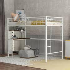 kids metal bunk storage shelves boys