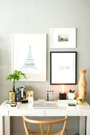 creating office space. office space in bedroom create master how to style a west elm parsons desk white lacquer neutral gold black grey walls home creating