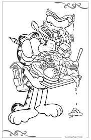 25 Vinden Garfield En Odie Kleurplaat Mandala Kleurplaat Voor Kinderen