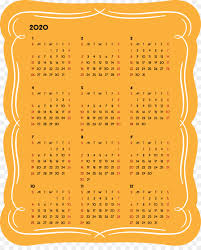 Do you find yourself, occasionally. 2020 Yearly Calendar Printable 2020 Yearly Calendar Year 2020 Calendar Png Download 2452 3000 Free Transparent 2020 Yearly Calendar Png Download Cleanpng Kisspng