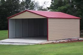 Carports Discount Metal Carports Metal Sheds And Garages 10 X 25