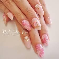 Nail Salon Piuさんのネイルデザイン 夏ネイル ピンク ネック