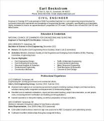 16+ Civil Engineer Resume Templates  Free Samples, Psd, Example inside Civil  Engineering