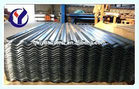 galvanized corrugated panels