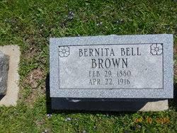 "Bernita Bell ""Nita"" Mattix Brown (1880-1916) - Find A Grave Memorial"