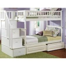 Stair loft bed with desk