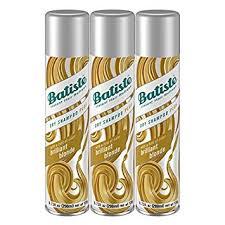 <b>Batiste</b> Dry Shampoo, <b>Brilliant Blonde</b>, 3 Count (Packaging May Vary)