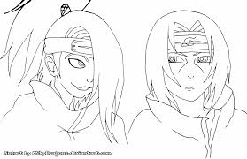 Uchiha Itachi Naruto Coloring Pages Chibi With Wumingme