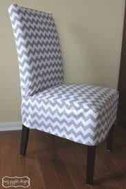 furniture covers for chairs. Chevron Chair Cover 2 - For The Dining Room Chairs But Different Fabric Furniture Covers W