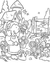 Free colouring pages tagged with: Garden 166327 Nature Printable Coloring Pages