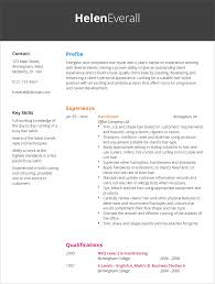 Hairdressing Cv Template Hairdresser CV Example Hashtag CV 1