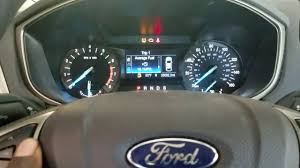Ford Fusion Oil Light Reset Ford Fusion Oil Light Reset Maintenance Light Reset