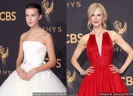 millie bobby brown modern family. emmys 2017: millie bobby brown channels princess, nicole kidman looks gorgeous on red carpet modern family i