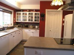 Pantry Cabinet Kitchen Kitchen Pantry Door Painted A Beautiful Red Called Salute Red By