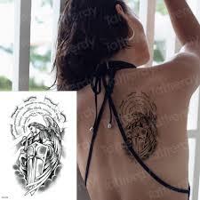 временные татуировки ангел убил дьявола дизайны поддельные татуировки