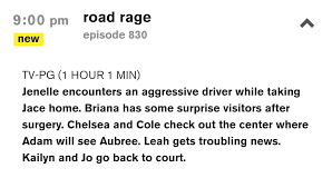 Jenelles Road Rage Incident Will Air On July 23rd