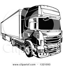 Volvo Truck Clipart