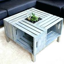 wood coffee table simple furniture square brown wooden with shelves homemade plans