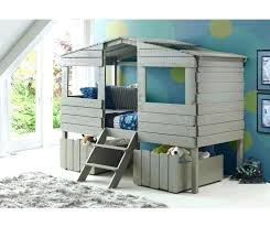 kids bed plans tree house bunk bed kids twin tree house loft bed rustic grey loft kids bed plans