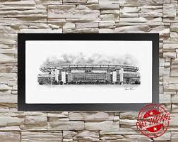 sports office decor. new england patriots decor - football gift gillette stadium wall art poster sports office d