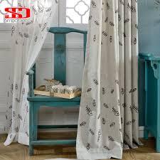 Frische Vorhänge Für Schlafzimmer Fenster Vögel Für Zimmer Rosa