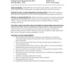 Shipping And Receiving Resume Sales Clerke Sample Legal File Saindeorg Inventory Job Description 62