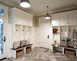 Mudroom. Mudroom Cubbies, mudroom lighting, mudroom Large Herringbone Floor