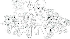 Coloring Pages Free Paw Patrol Skye Coloring Pages Birthday Party